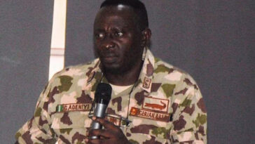 Military Court Convicts General Adeniyi, Demotes Him By Three Years Over Leaked Video 4