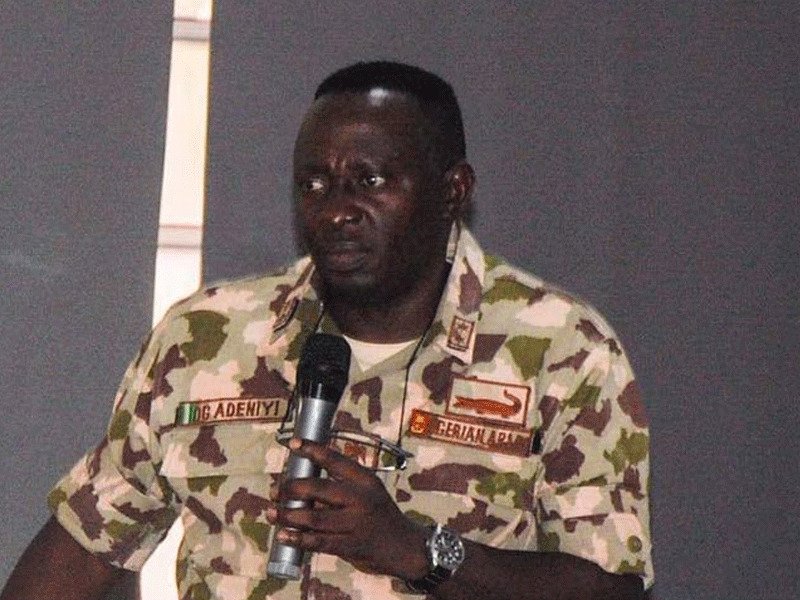 Military Court Convicts General Adeniyi, Demotes Him By Three Years Over Leaked Video 1