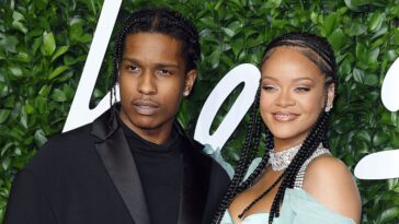 Rihanna And ASAP Rocky Confirmed To Be Dating After Months Of Romance Speculation 10