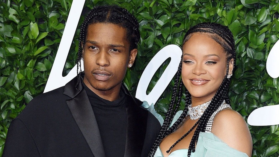 Rihanna And ASAP Rocky Confirmed To Be Dating After Months Of Romance Speculation 1