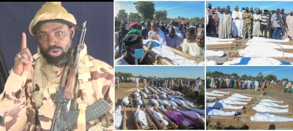 Boko Haram Leader, Abubakar Shekau Reveals Why They Killed 43 Rice Farmers In Borno 1