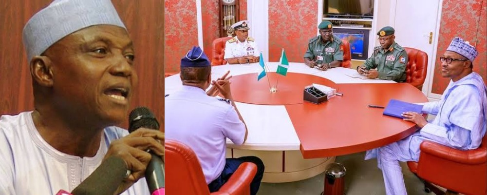 Garba Shehu Reveals Why Buhari Still Keeps Service Chiefs Despite Calls For Their Sack 1