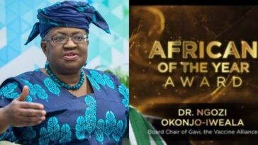 Ngozi Okonjo-Iweala Reacts As Forbes Names Her 'Africa Person Of The Year 2020' 10