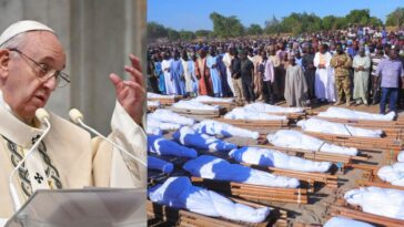 Pope Francis Reacts To Killing Of 43 Rice Farmers By Boko Haram Terrorists In Borno 12