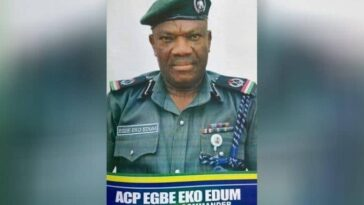Assistant Commissioner Of Police, Egbe Edum Killed While Visiting His Family In Calabar 13