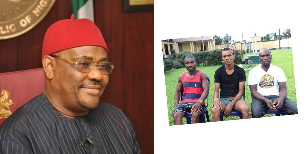 """""""We Bombed Governor Wike Father's Church To Get Recognition In IPOB"""" - Suspects Confesses 1"""