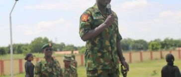 """Don't Associate With Politicians To Destabilize Nigeria's Democracy"" – Buratai Warns Generals 25"