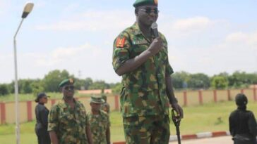 """Don't Associate With Politicians To Destabilize Nigeria's Democracy"" – Buratai Warns Generals 9"