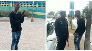 Man Arrested For Allegedly Slapping Police Officer Twice After Causing Accident In Lagos 4