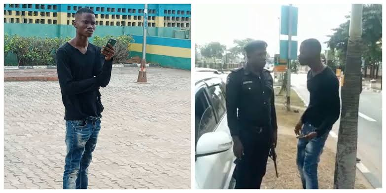 Man Arrested For Allegedly Slapping Police Officer Twice After Causing Accident In Lagos 1