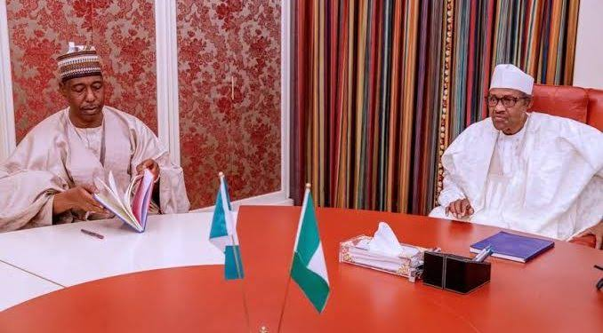 Despite Recent Killings, Zulum Says Security Situation In Borno Is Far Better Under Buhari 1