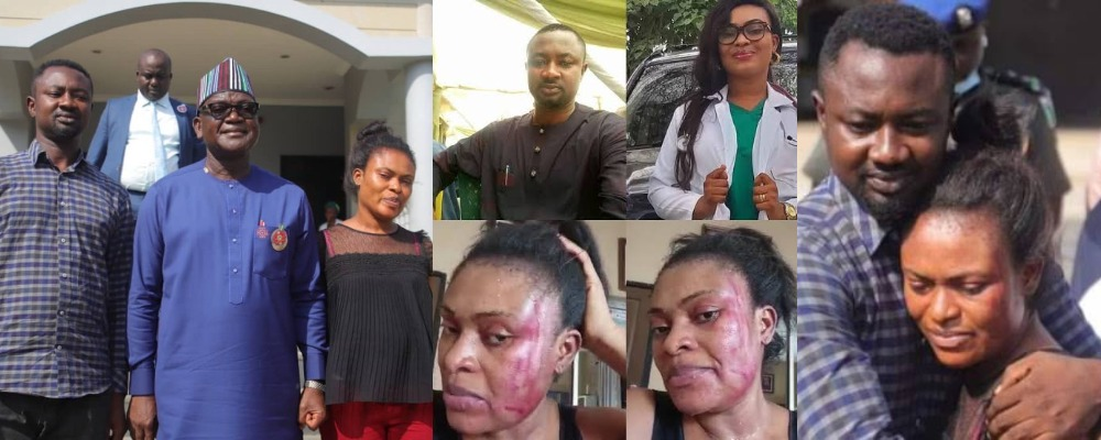Governor Ortom Reconciles Channels TV Reporter With Wife After Assaulting Her [Video] 1