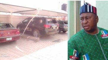 Angry Youths Destroy Benue APC Chairman's House And Cars Over Death Of His Security Guard 11