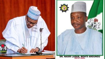 President Buhari Sacks Nasiru Argungu As DG, National Directorate Of Employment 3