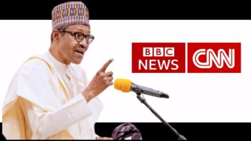 President Buhari Says He Was Disgusted By CNN And BBC Coverage Of #EndSARS Protests 4