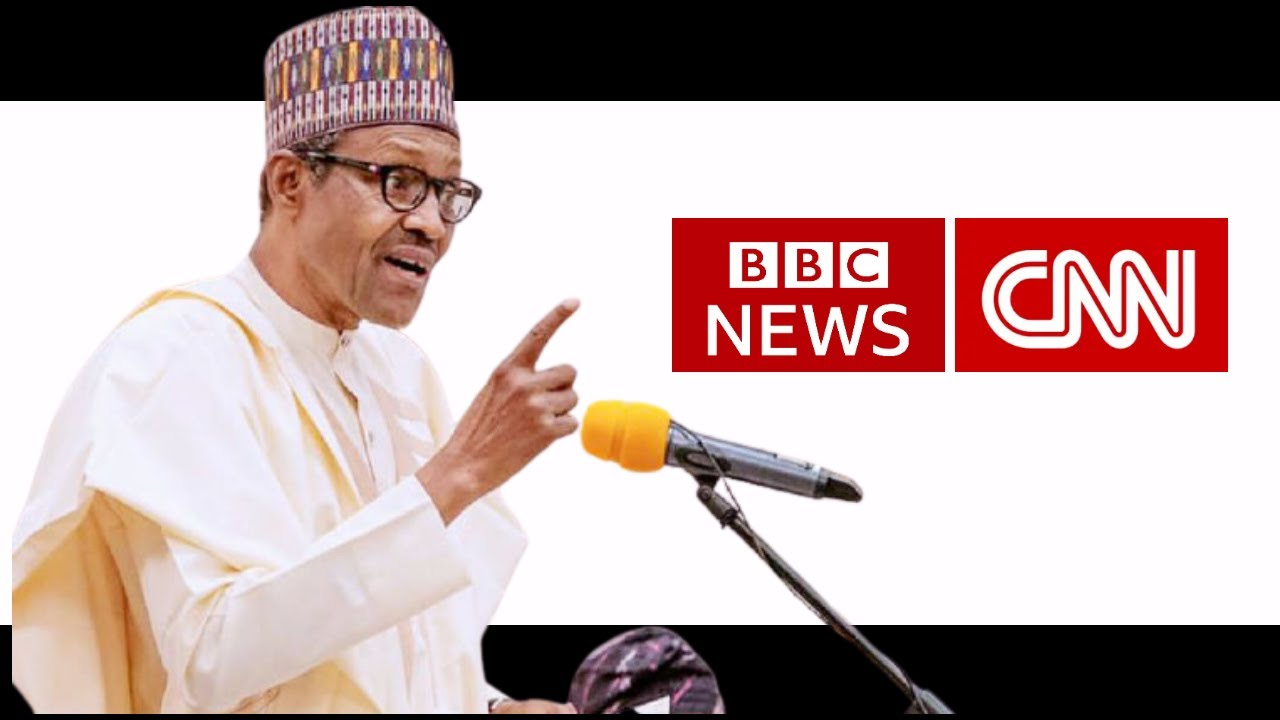 President Buhari Says He Was Disgusted By CNN And BBC Coverage Of #EndSARS Protests 1