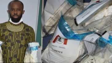 Nigerian Man Set To Marry Next Month Caught Smuggling 14.4kg Cocaine From Brazil 5