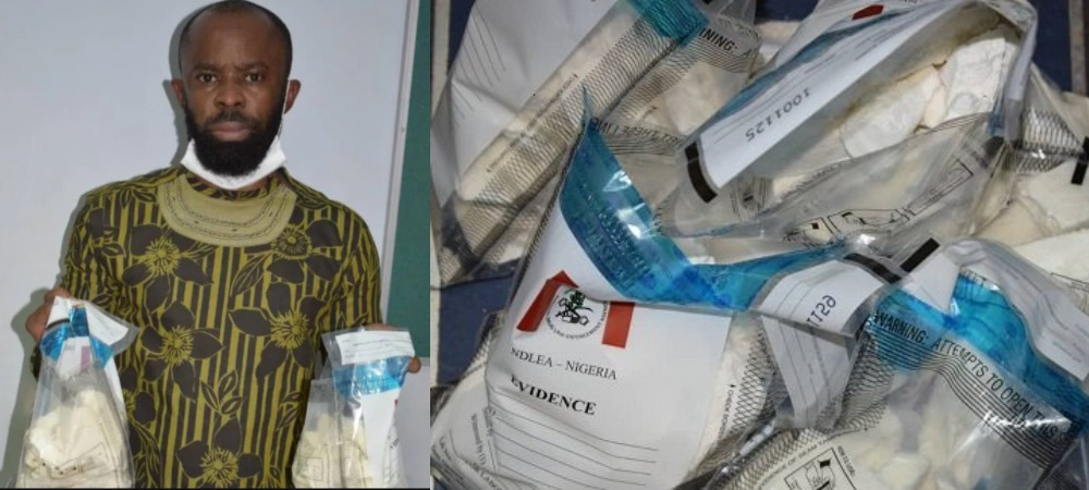 Nigerian Man Set To Marry Next Month Caught Smuggling 14.4kg Cocaine From Brazil 1