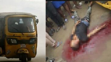 Police Allegedly Kills Young Keke Driver Over N100 Bribe In Rukpokwu, Port Harcourt [Video] 5
