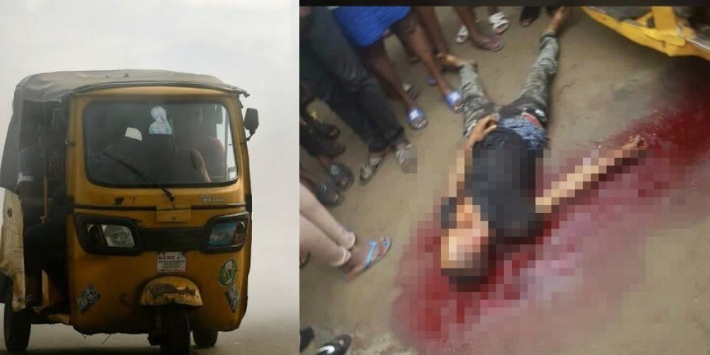 Police Allegedly Kills Young Keke Driver Over N100 Bribe In Rukpokwu, Port Harcourt [Video] 1