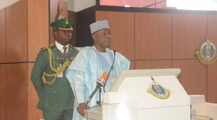 Minister Of Defence, Bashir Magashi Says Nigeria Is Safer Than It Was Seven Years Ago 1