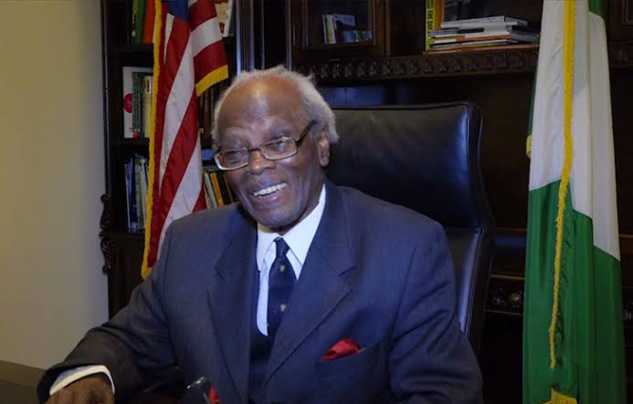 85-Year-Old Nigerian Ambassador To US, Sylvanus Adiewere Nsofor Has Died 1