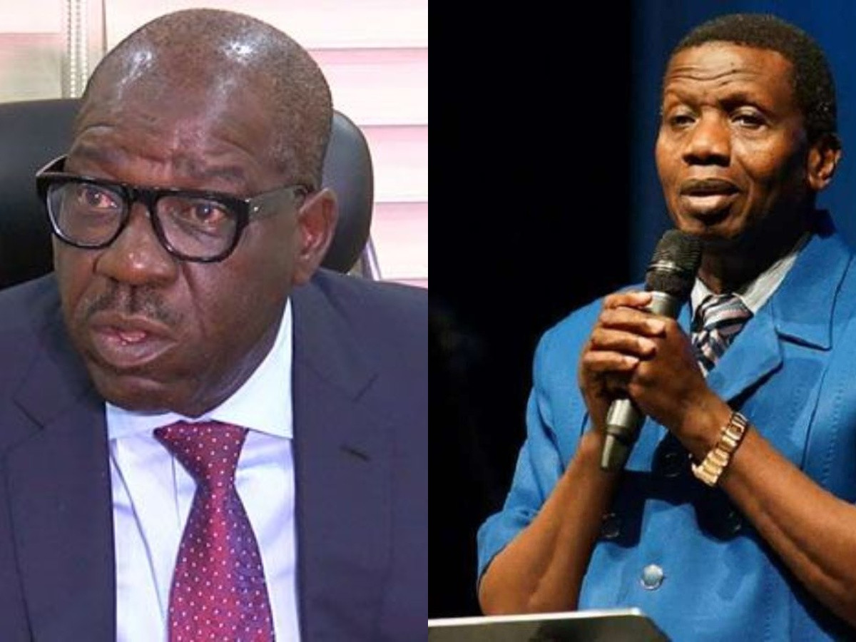 Pastor Adeboye Told Me I Would Be Re-Elected For Second Term - Governor Obaseki 1