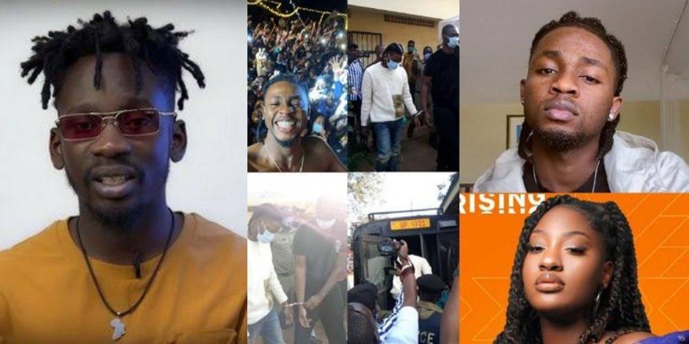 Omah Lay And Tems Will Soon Be Released From Police Custody In Uganda - Mr Eazi 1