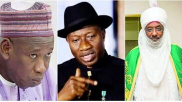 Sanusi Was Appointed Emir Of Kano Just To Retaliate What Jonathan Did To Him - Ganduje 5