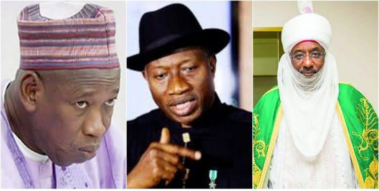 Sanusi Was Appointed Emir Of Kano Just To Retaliate What Jonathan Did To Him - Ganduje 1