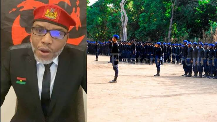 Nigerian Soldiers Resigned To Join Nnamdi Kanu's Eastern Security Network - Military 1