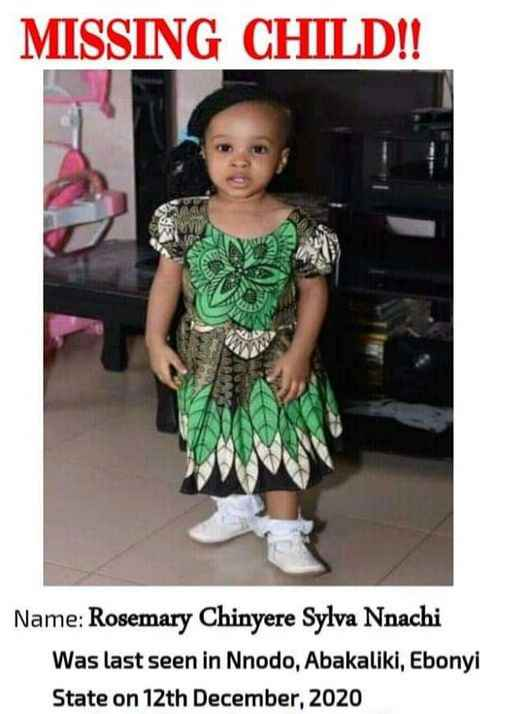 Body Of A Child Found Floating In Ebonyi River After She Was Declared Missing At End Of Year Party 2