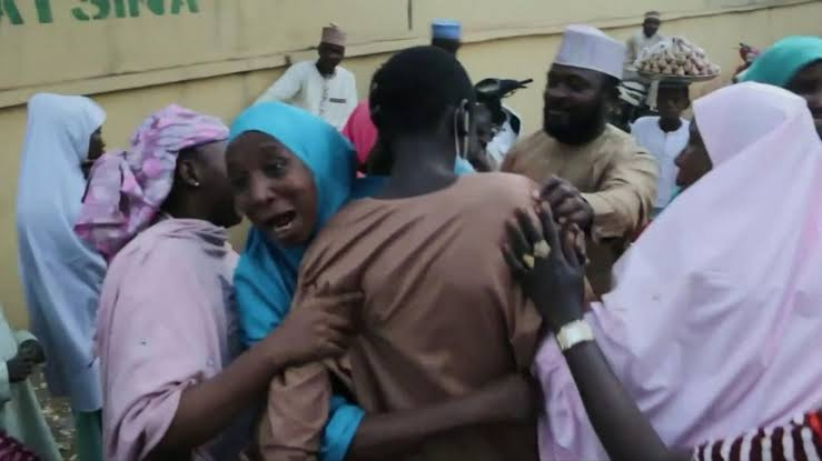 Tears Of Joy As Abducted Kankara Students Reunite With Their Parents In Katsina [Photos] 2