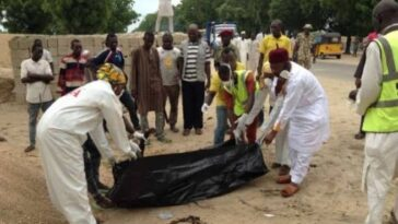 Teenage Suicide Bomber Kill Three People When She Blew Up Herself In A Crowd In Borno 4
