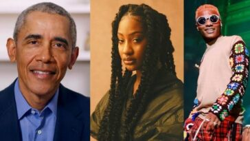 Wizkid And Tems Makes Favourite Music List Of Former US President, Barack Obama 2