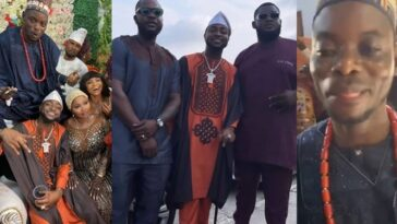 Davido Entertains Guests As He Performs At His Driver's Wedding Ceremony [Video] 5