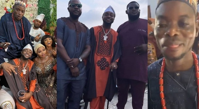 Davido Entertains Guests As He Performs At His Driver's Wedding Ceremony [Video] 1