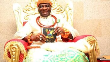 Olu Of Warri, Ogiame Ikenwoli Dies Of Alleged Coronavirus Infection After 5th Anniversary 2