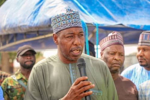 Borno Governor, Zulum Says There's No Hope Nigerian Army Can Defeat Boko Haram 1