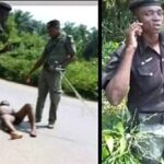 Outrage As Bribe-Seeking Policemen Strip Driver Naked, Vandalise His Vehicle In Rivers 6