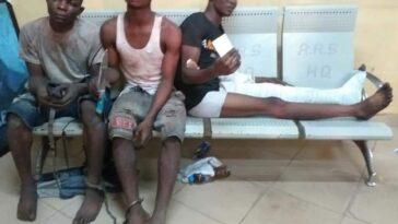 Lagos Police arrest traffic robbers terrorising Ikeja axis 1