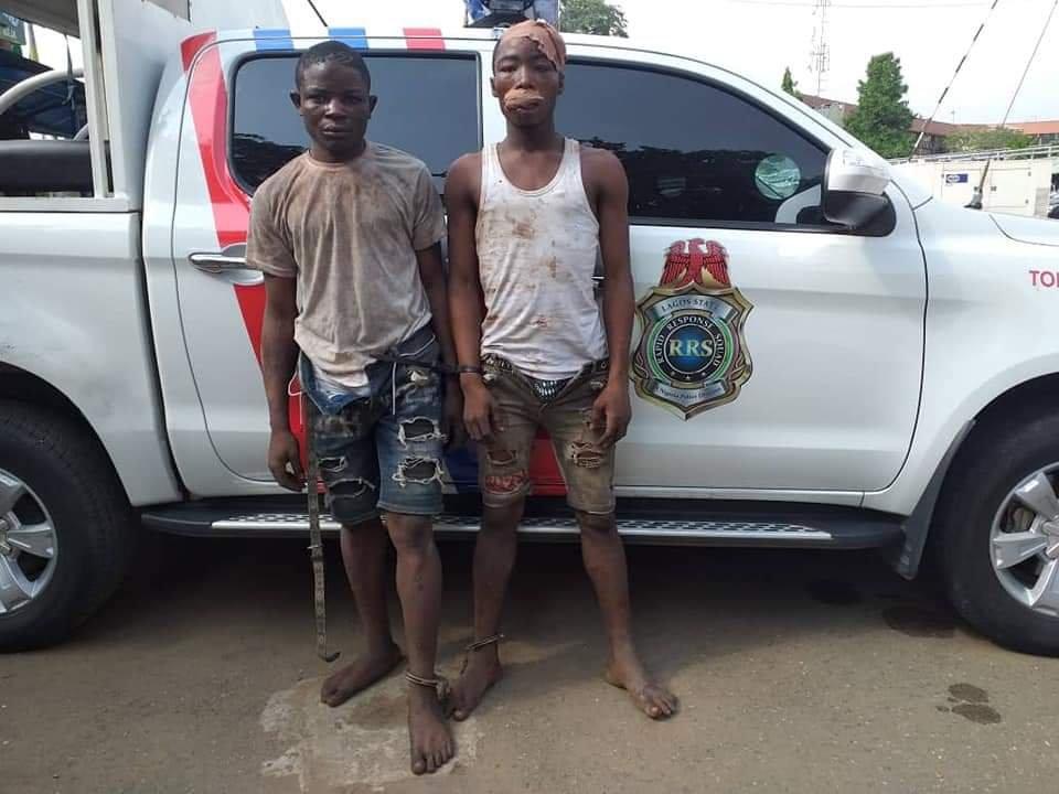 Lagos Police arrest traffic robbers terrorising Ikeja axis 2