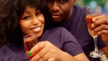 Nollywood actress Rita Dominic shows off her boyfriend Fidelis Anosike 1