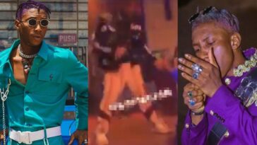 Outrage Among Nigerians As Bella Shmurda Performs On Stage While High On Drugs [Video] 11