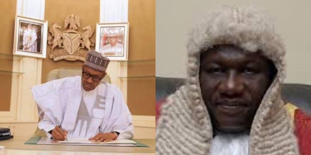 President Buhari Appoints Justice Salisu Garba As Acting Chief Judge Of FCT 1