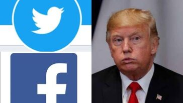 Facebook And Twitter Lock Trump's Accounts Over His Comments On Violence That Rocked US Capitol Hill 2