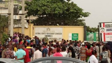 NIN Registration: NIMC Workers Embark On Strike Over Welfare Issues, Exposure To COVID-19 4