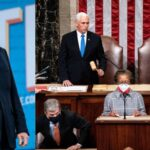 US Congress Certifies Joe Biden's Victory After Capitol Invasion By Trump Supporters 27