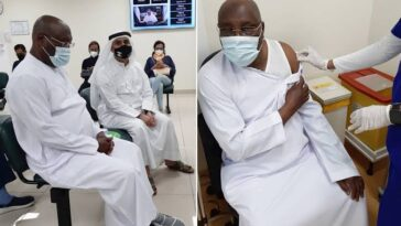 Atiku Abubakar Receives Pfizer COVID-19 Vaccine In Dubai [Photos] 3
