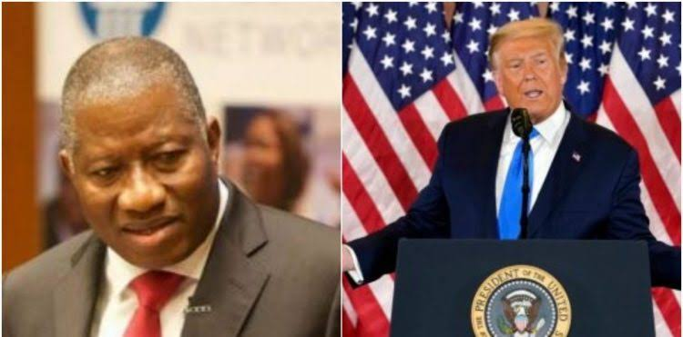 """US Capitol Attack: """"No Ambition Is Worth The Blood Of Any Citizen"""" - Jonathan Tells Trump 1"""